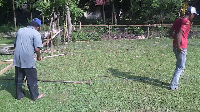 Proses Pembangunan Kantor Desa 1 Gampong Meunasah Blang Krueng Semideun Kec. Peukan Baro Kab. Pidie - Aceh
