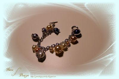 gunadesign charm bracelet caged beads