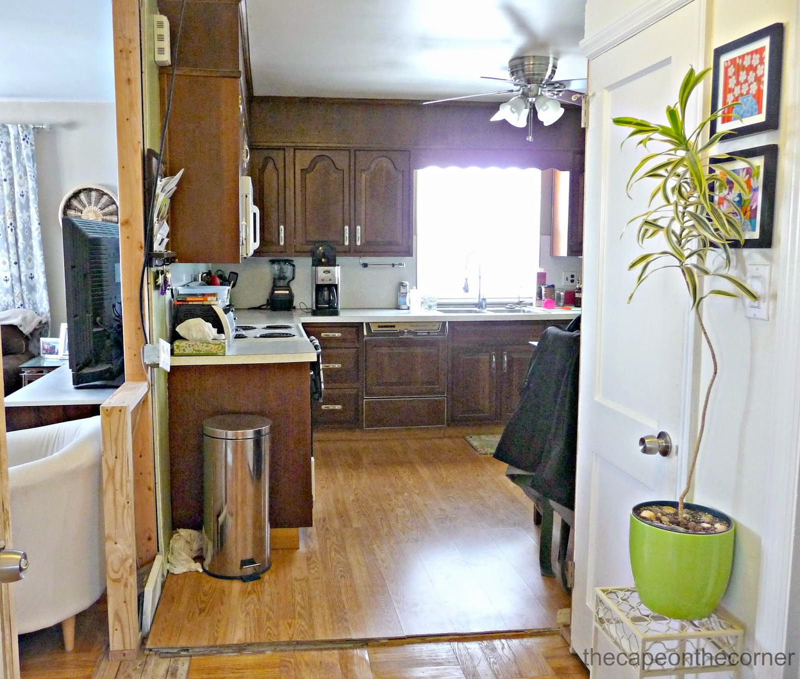 opening up kitchen