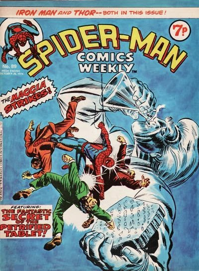 Spider-Man Comics Weekly #89, Silvermane