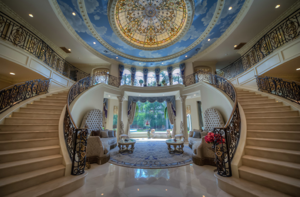 Homes Mansions Mediterranean Mansion In Houston TX