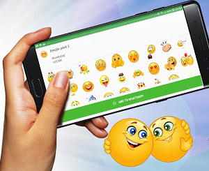 Entertainment App of the Month - WAStickerApps emoticon stickers for Whatsapp