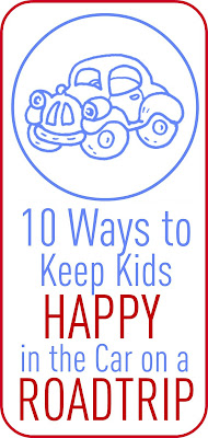 10 Ways To Keep Kids Happy On A Roadtrip