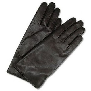 ladies gloves, Thomas Jefferson, black gloves