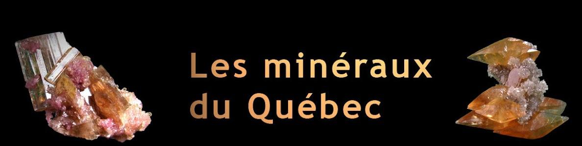 Les minéraux - Québec