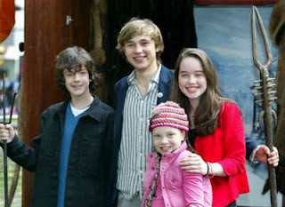 Anna Popplewell with Boyfriend