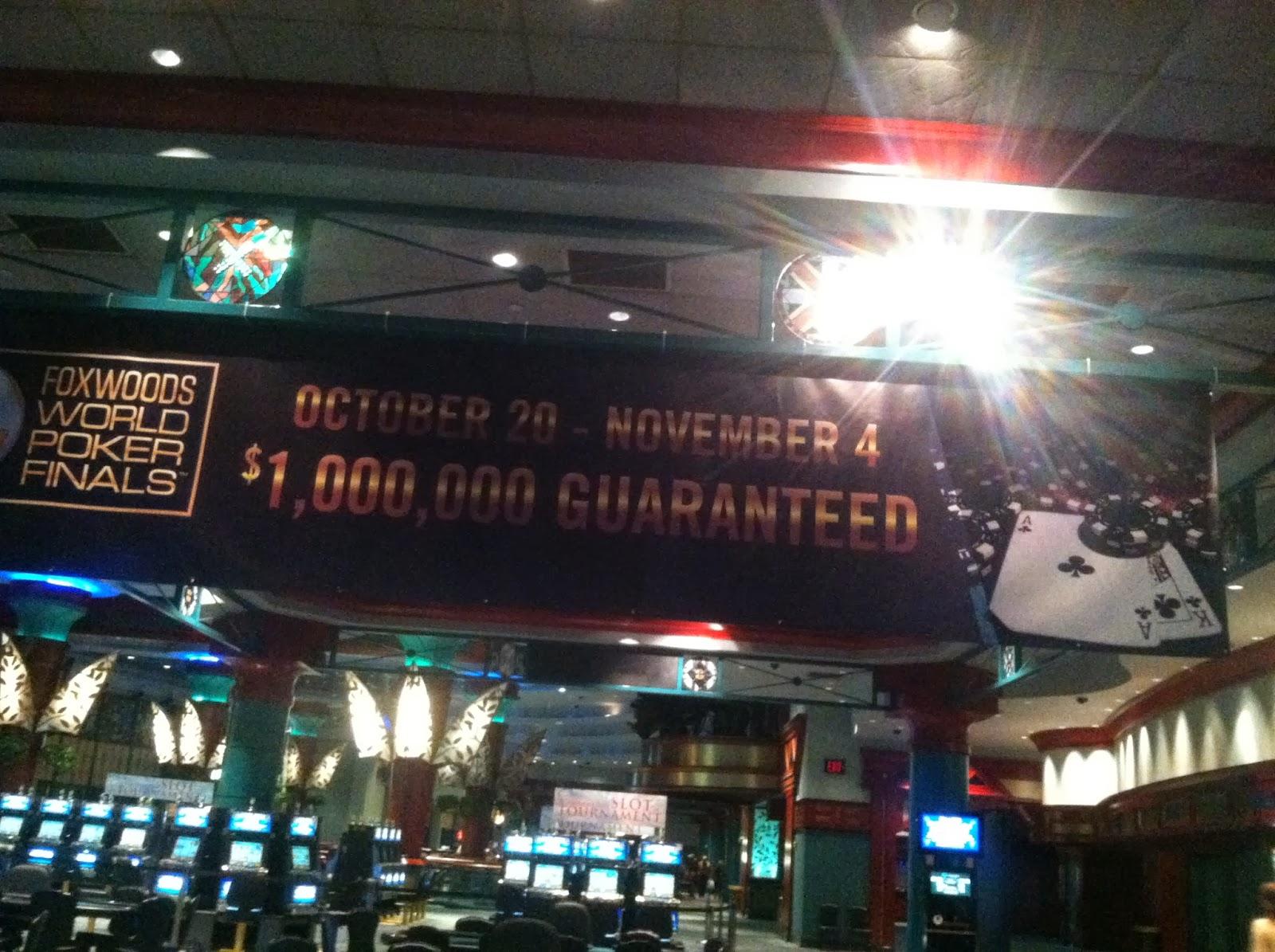 World poker finals foxwoods