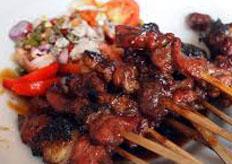 resep masakan indonesia sate kambing empuk spesial praktis, mudah, sedap, gurih, nikmat