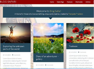Blog Safari Blogger Template