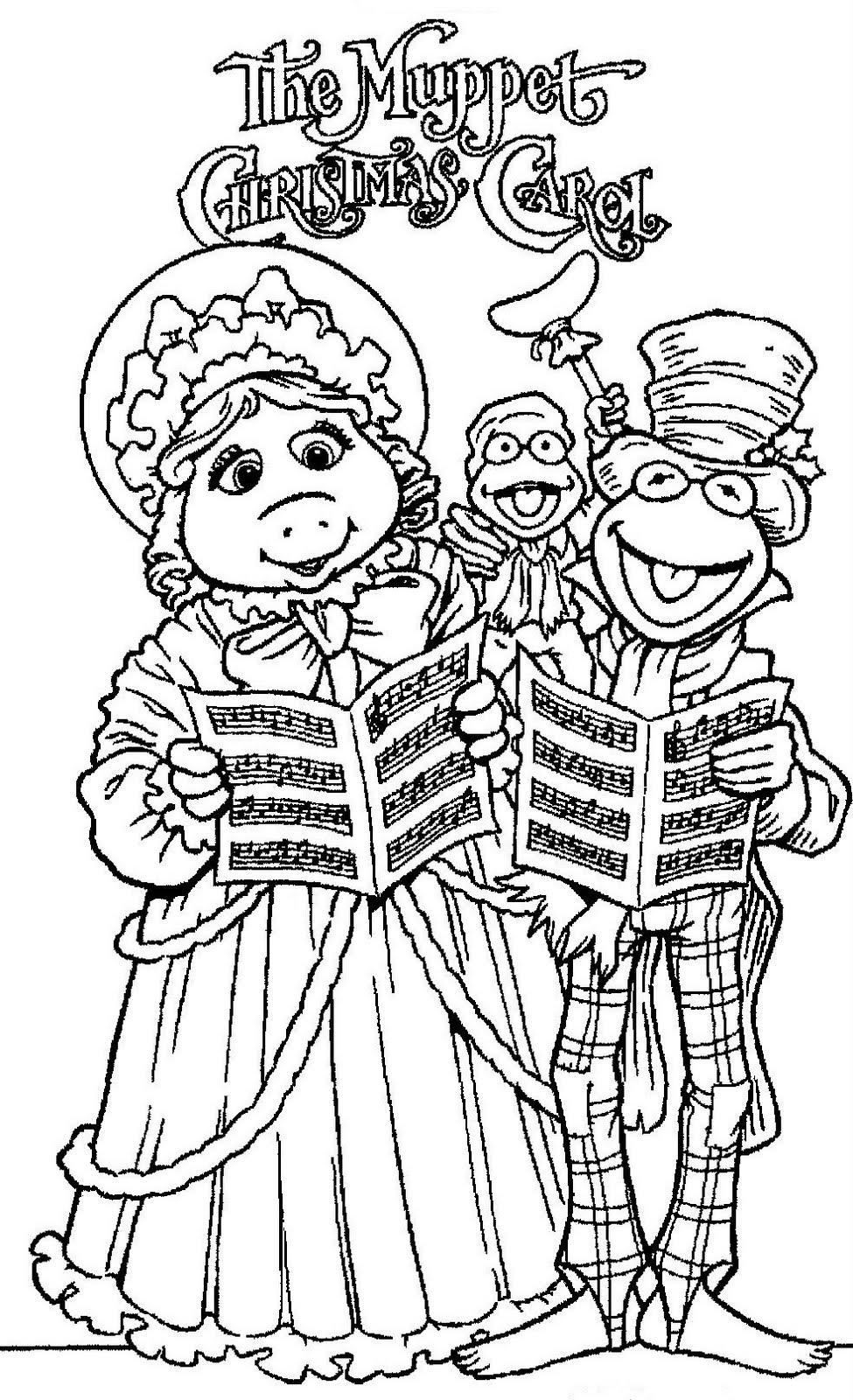 miss piggy coloring pages muppets - photo#30