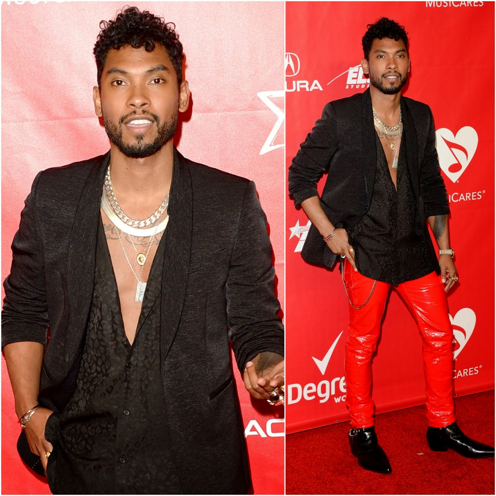 Miguel in Saint Laurent - 2014 MusiCares Person Of The Year Gala Honoring Carole King