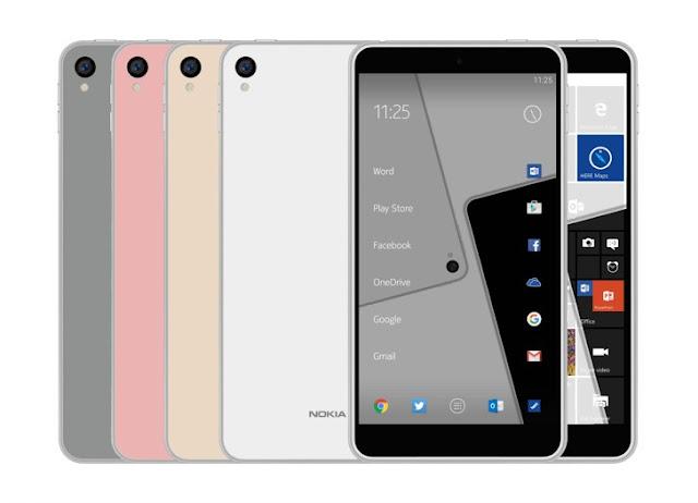 Bocoran terbaru desain Nokia C1 (GSM Arena)