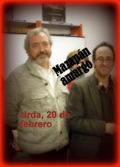 JOAQUÍN GARCÍA GARIJO Y SANTIAGO SASTRE ARIZA EN URDA, 20/02/2013