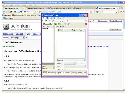 how to use selenium to test web application