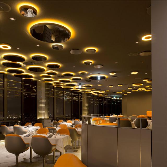 leuchten design ciel de paris artemide