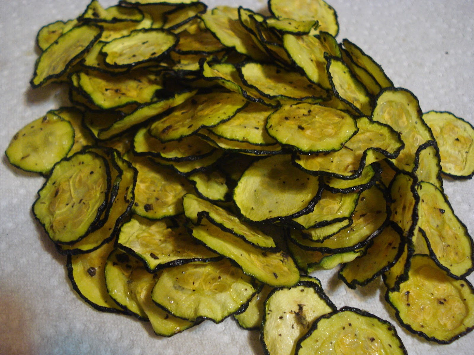 The Creative Home: Zucchini Chips