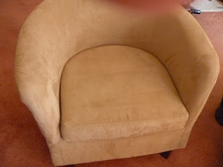 Fixed occasional chair