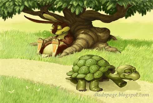 Kids Page The Hare And The Tortoise Short Story