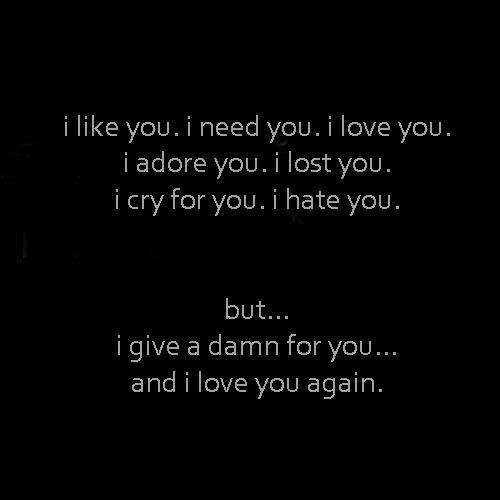 Ich Habe Keine Gefühle Mehr