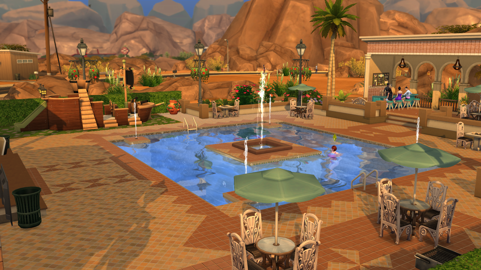Simply Ruthless Oasis Springs Pool Club