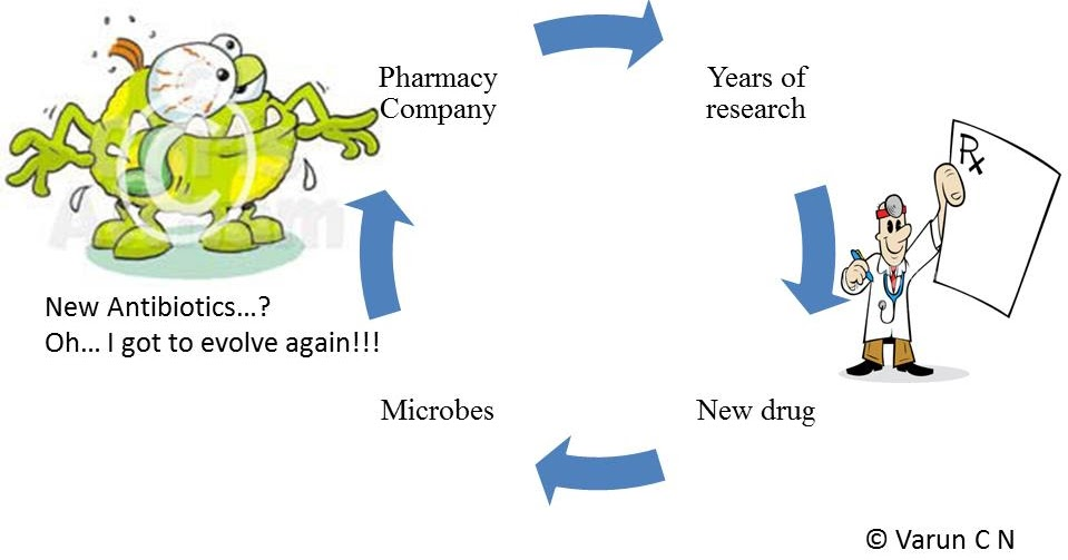 Antibiotic Resistance Due To Natural Selection