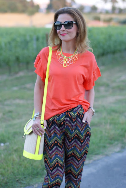 swaychic trousers, ethnic print pants, fashion and cookies