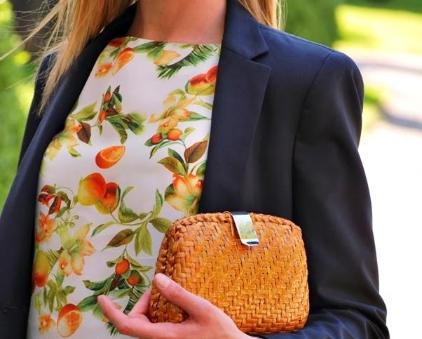 Tendência: Frutas Moda Verão 2014 Roupa Look