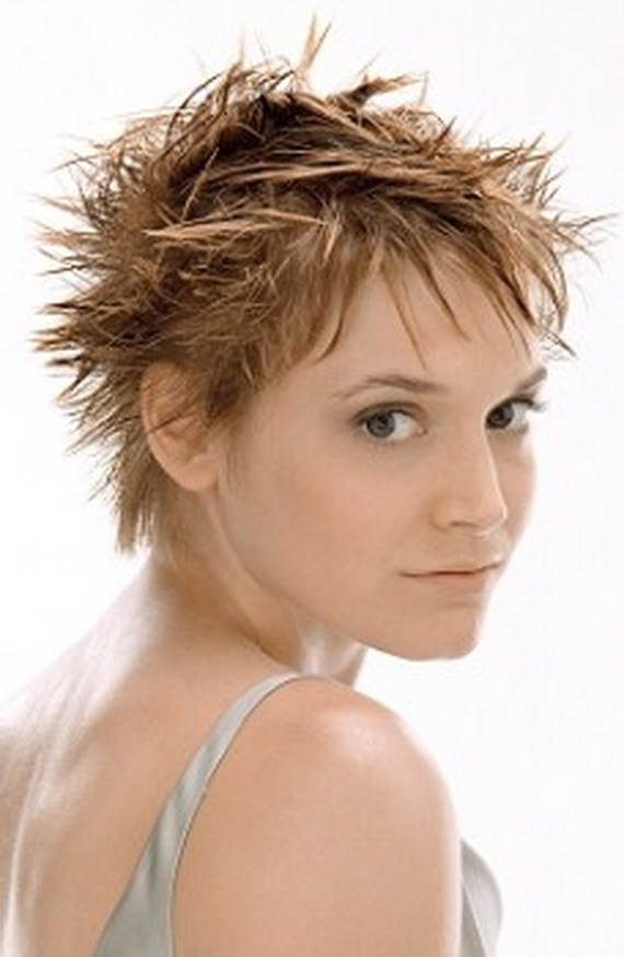 Trendy For Short Hairstyles Short Spiky Hairstyles for Women