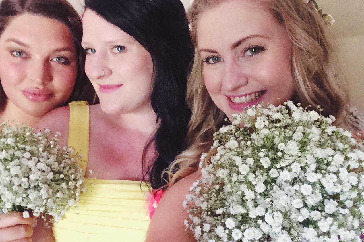 Bridesmaids - Combe Manor wedding