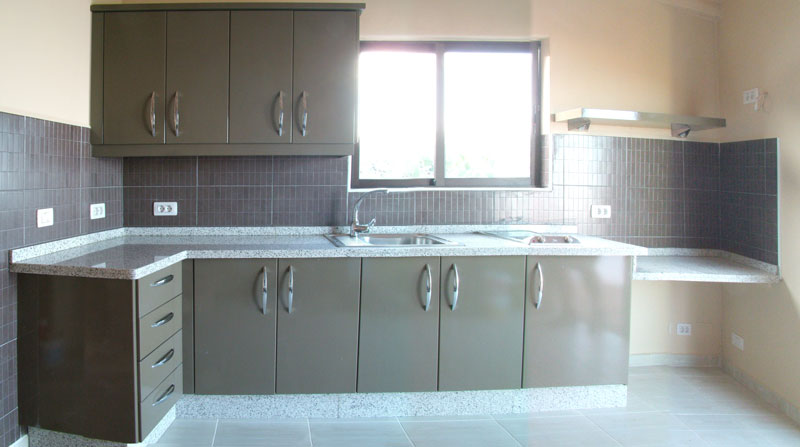 Kitchen home design decoraci n cocinas color gris - Cocinas en gris ...