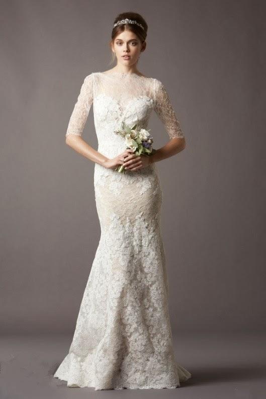 My-Fancy-Bride Blog: Elegant Sheath Wedding Dresses for ...