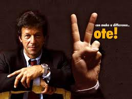 vote for Imran Khan
