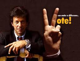 vote for Imran Khan
