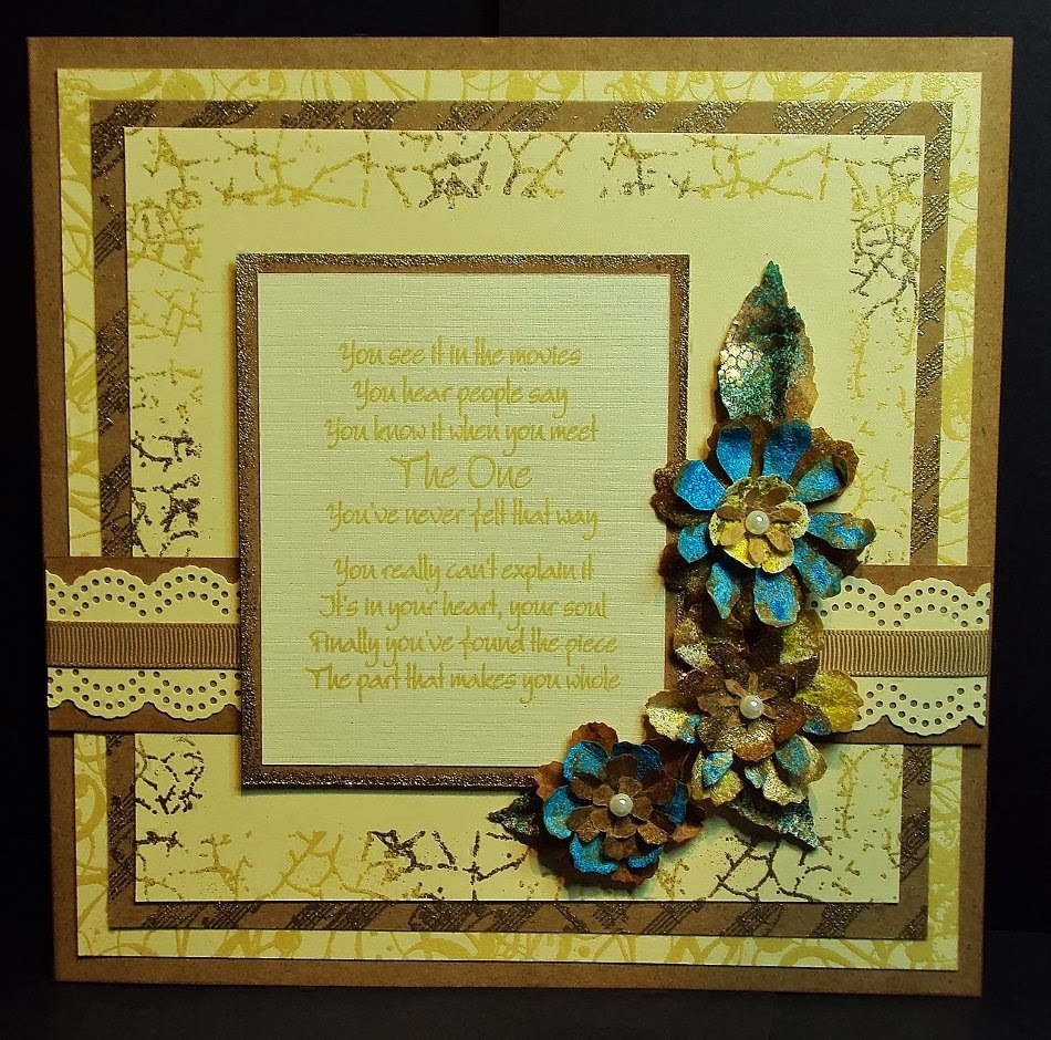 crackled background stamp - wedding verses - visible image