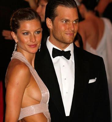 super model gisele bundchen with husband tom brady