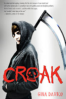 croak by gina damico book cover