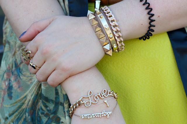 KIMONO, summer, blogger, ootd, hamburg, modeblogger, bijou brigitte, jewelry, schmuck, kette, dreieck, kreis, profilschuhe, river island, neoprene top, skater skirt fashionista, personal blog, lifestyle, germany,
