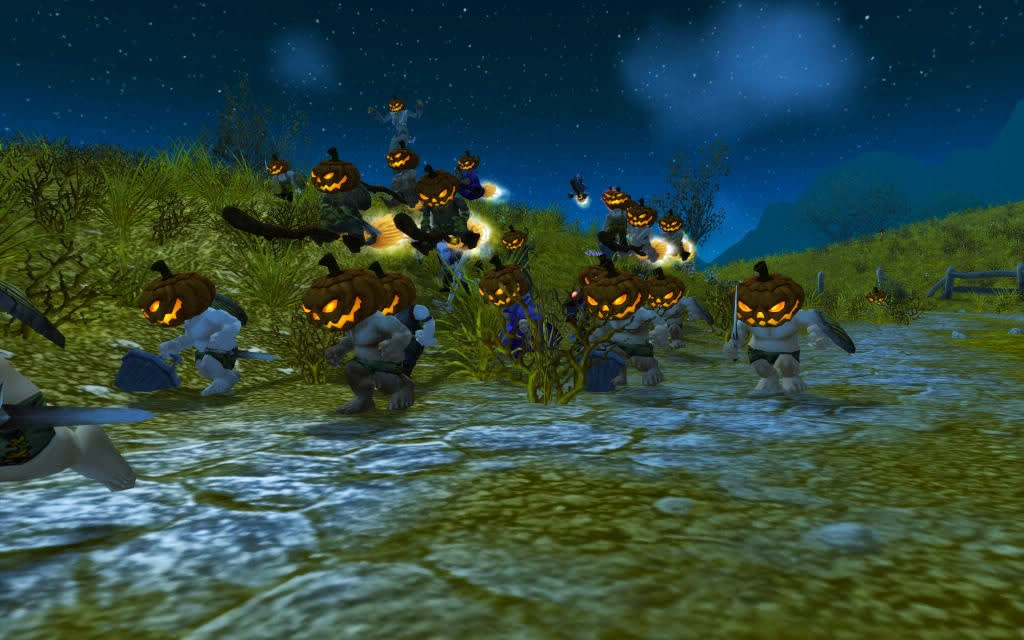 World of Warcraft Screenshot Halloween