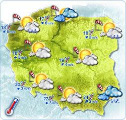 Pogoda na dziś i jutro