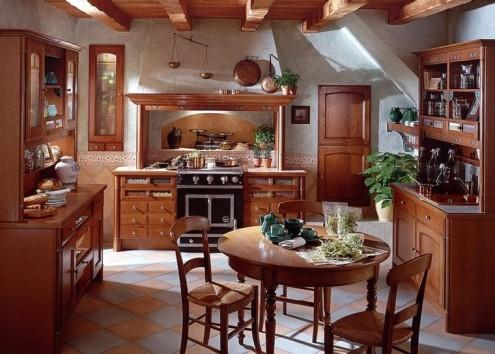 Cl sicos y tradicionales dise os de cocinas francesas for Cocinas tradicionales