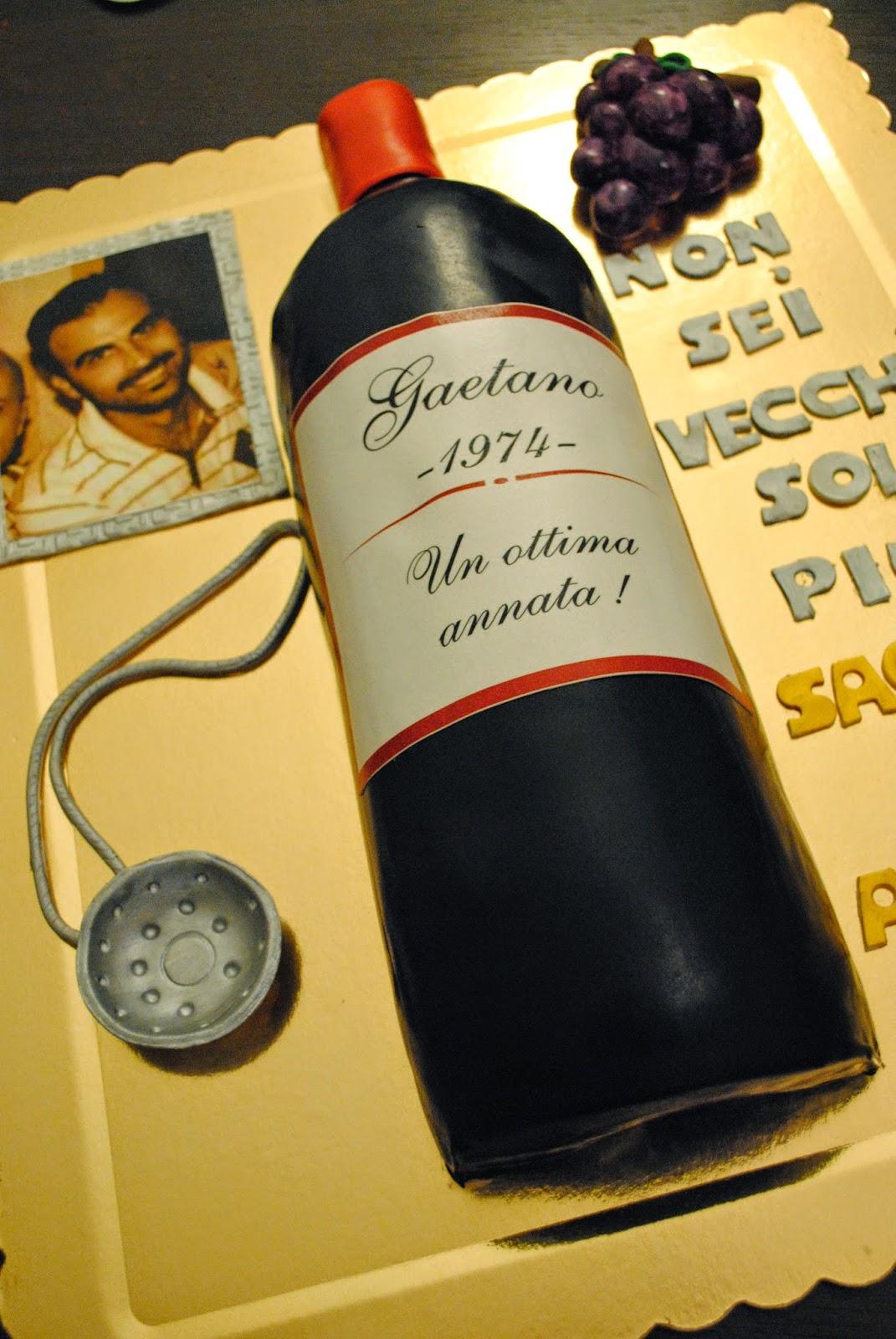 La Dolce Vita: Torta bottiglia di vino
