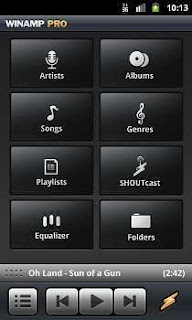 Winamp Music player app for Android