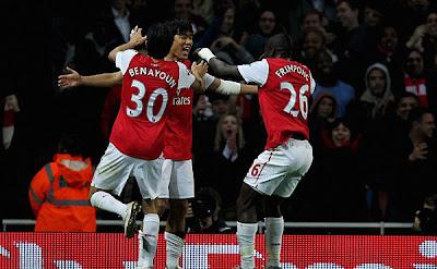 Arsenal 2 - 1 Bolton Wanderers (1)