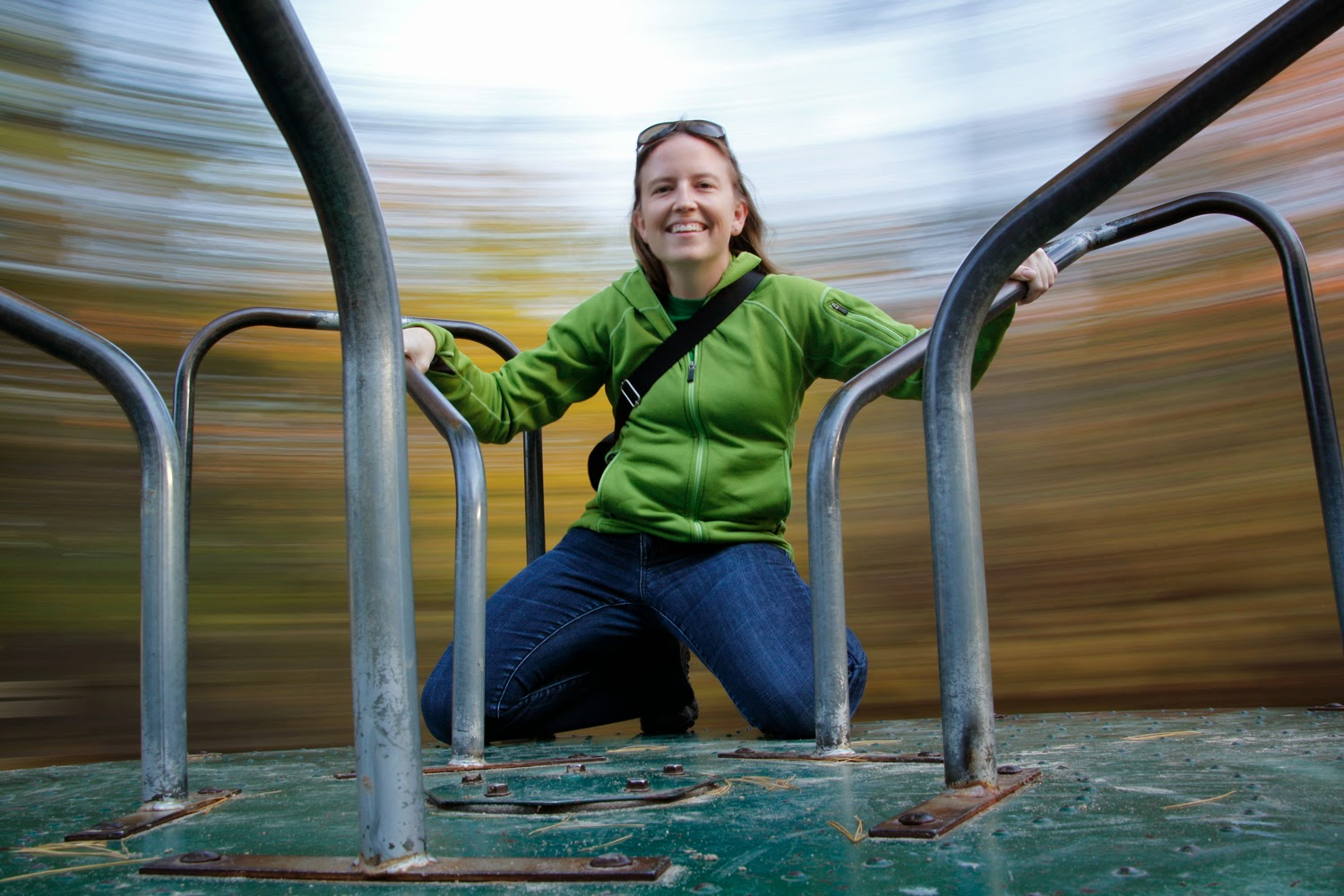 Motion Blur Merry-Go-Round Selfie Taken with GorillaPod | Boost Your Photography