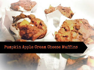 muffins, fall, pumpkin