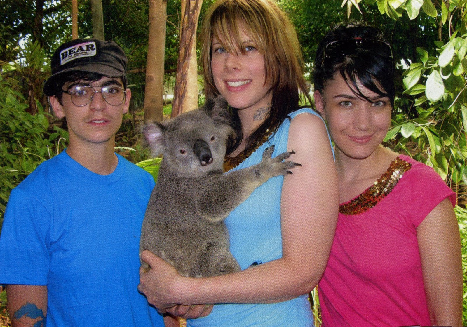 Le Tigre with a Koala