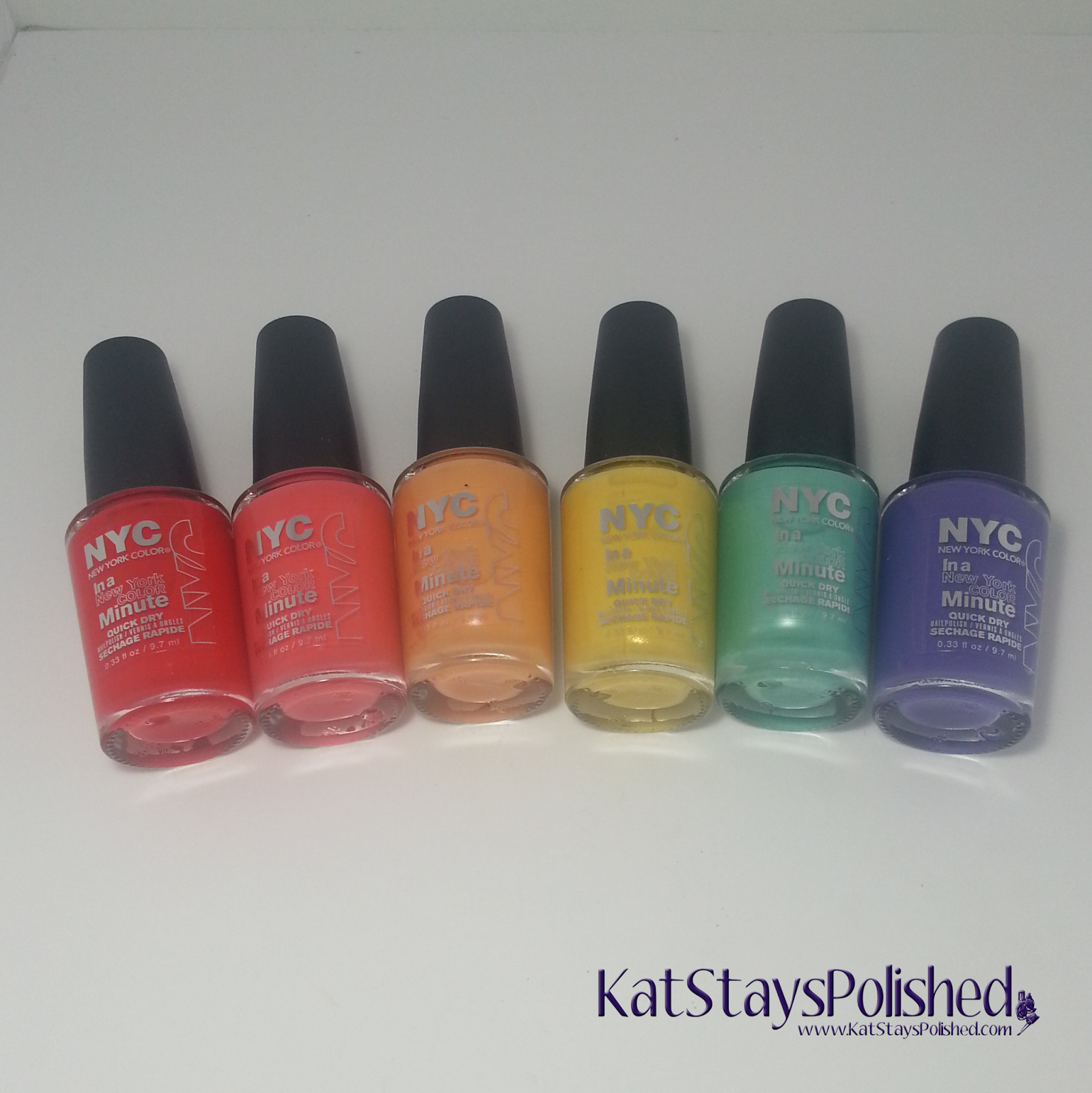 NYC New York Color - City Samba | Kat Stays Polished