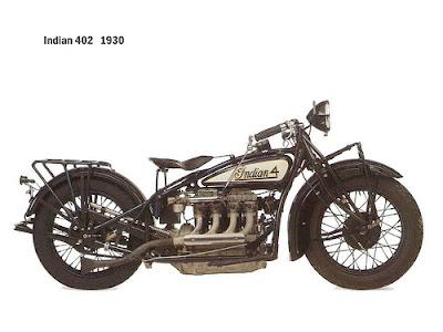 Motor Langka - 402 INDIAN (AMERICAN)