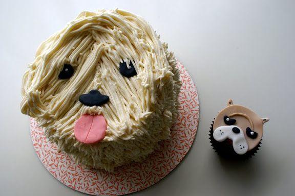 http://cococakecupcakes.blogspot.com/2013/08/dog-cakes.html
