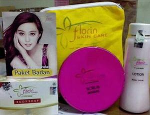 Jual Pemutih Tubuh Florin Paket Body Whitening